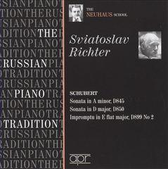 Sviatoslav Richter - The Russian Piano Tradition: Sviatoslav Richter