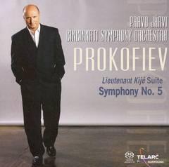 Paavo Järvi - Prokofiev: Lieutenant Kijé Suite; Symphony No. 5