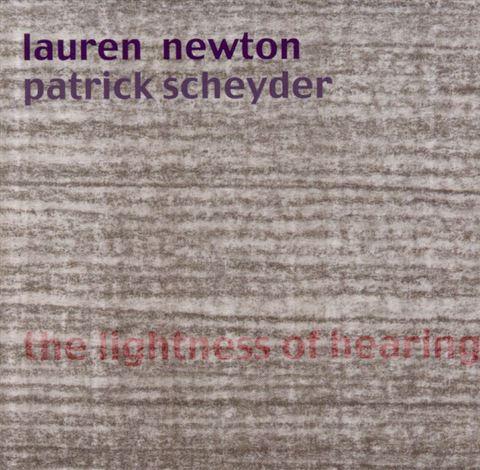 Lauren Newton - The Lightness of Hearing
