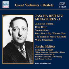 Bing Crosby - Jascha Heifetz Miniatures, Vol. 1