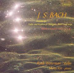 Bach, J.S. - Bach: Sonatas for Violin and Obbligato Keyboard, BVW.1014-1017, Nos. 1-4
