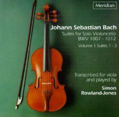Bach, J.S. - J. S. Bach: Suites for Solo Violoncello, BWV 1007-1012, Vol. 1, Suites 1 -3