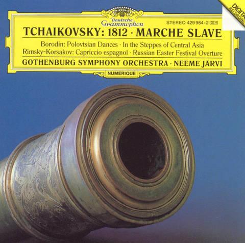 Neeme Järvi - Tchaikovsky: 1812 Overture; Marche Slave