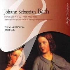 Bach, J.S. - Bach: Sonates BWV 1027-1029, 1020, 1022 Transcriptions pour clavecin et alto