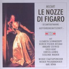 Karl Böhm - Mozart: Le Nozze di Figaro (Gesamtaufnahme, Aufführungsmitschnitt)