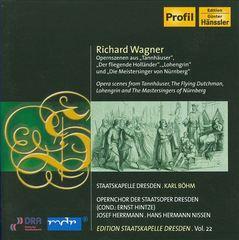 Karl Böhm - Richard Wagner: Tannhäuser; Der Fliegende Holländer; Lohengrin; Die Meistersinger von Nürnberg