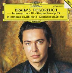 Ivo Pogorelich - Brahms: Intermezzi; Rhapsodien; Capriccio