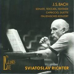 Sviatoslav Richter - Sviatoslav Richter Plays Bach