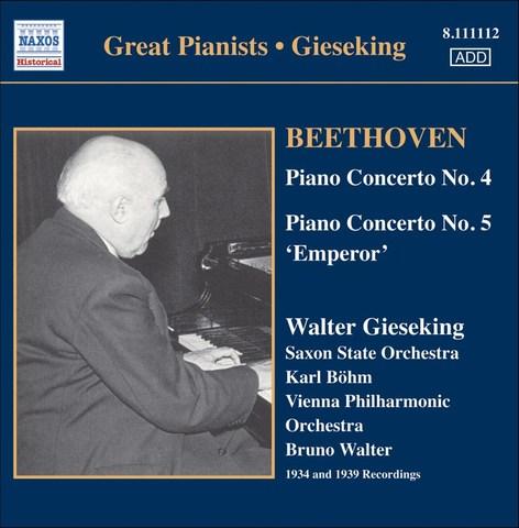 Beethoven, L. Van - Beethoven: Piano Concertos Nos.4 & 5