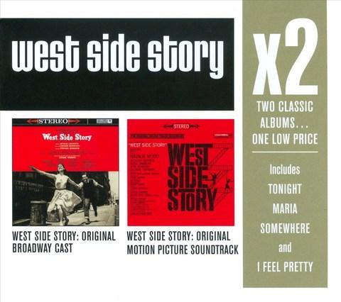 VARIOUS ARTISTS - West Side Story [Original Broadway Cast]; West Side Story [Original Motion Picture Soundtrack]