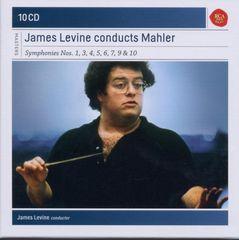 James Levine - James Levine Conducts Mahler: Symphonies nos. 1, 3, 4, 5, 6, 7, 9 & 10