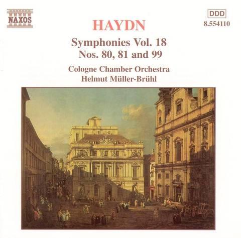 Haydn, J. - Haydn: Symphonies Nos. 80, 81 and 99