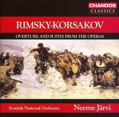 Neeme Järvi - Rimsky-Korsakov: Overture and Suites from the Operas