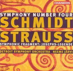 Neeme Järvi - Schmidt: Symphony No. 4; Strauss: Symphonic Fragment (Josephs-Legende)