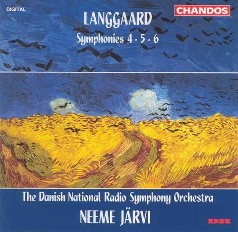 Neeme Järvi - Langgaard: Symphonies Nos. 4, 5, 6
