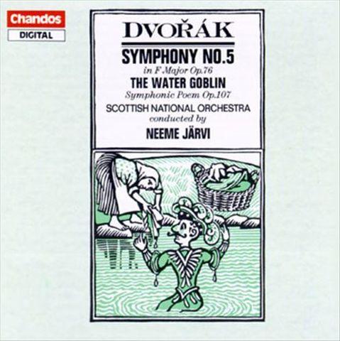 Neeme Järvi - Dvorák: Symphony No. 5; The Water Goblin