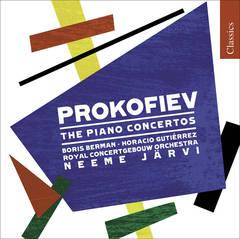 Neeme Järvi - Sergey Prokofiev: Piano Concertos