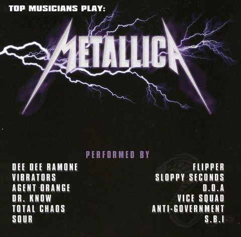 VARIOUS ARTISTS - Top Musicians Play Metallica