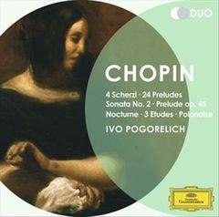 Ivo Pogorelich - Chopin: 4 Scherzi; 24 Preludes