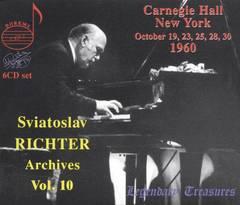 Sviatoslav Richter - Sviatoslav Richter Archives, Vol. 10