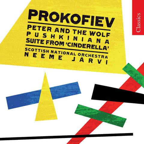 Neeme Järvi - Prokofiev: Peter and the Wolf; Pushkiniana; Cinderella Suite