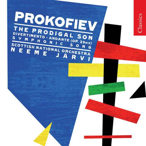 Neeme Järvi - Prokofiev: The Prodigal Son; Divertimento; Symphonic Song