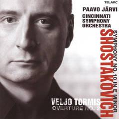 Paavo Järvi - Dmitri Shostakovich: Symphony No. 10; Veljo Tormis: Overture No. 2