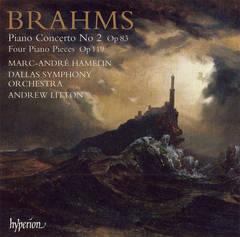 Marc-André Hamelin - Brahms: Piano Concerto No. 2; Four Piano Pieces, Op. 119