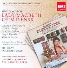 Mstislav Rostropovich - Shostakovich: Lady Macbeth
