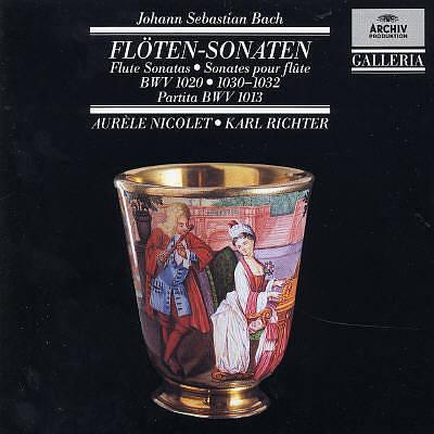 Bach, J.S. - Bach J.S: Flute Sonatas BWV 1020, 1030 - 1032 [Germany]