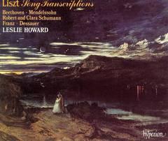 Leslie Howard - Liszt: Song Transcriptions