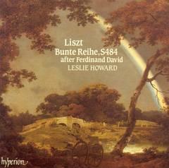 Leslie Howard - Liszt: Bunte Reihe, S. 484