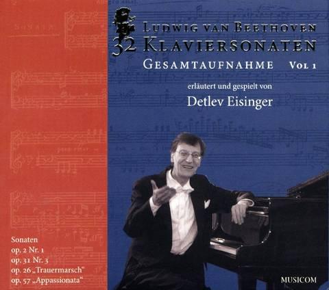 Beethoven, L. Van - Beethoven: Klaviersonaten, Opp. 2/1, 31/3, 26, 57