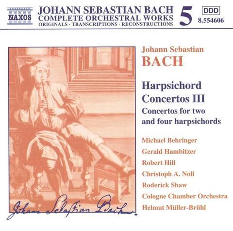 Bach, J.S. - Bach: Harpsichord Concertos 3