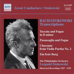 Bach, J.S. - Bach-Stokowski: Transcriptions