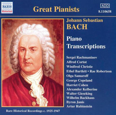Bach, J.S. - J.S. Bach: Piano Transcriptions