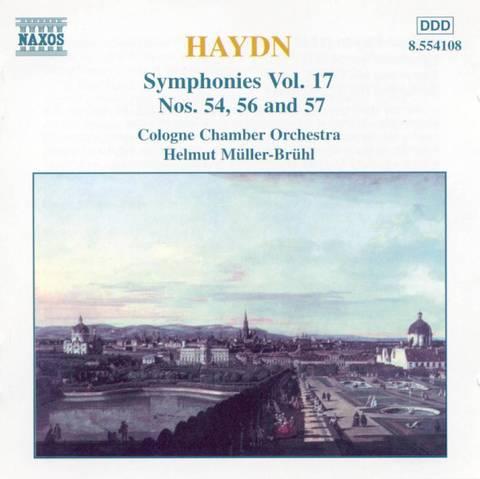 Haydn, J. - Haydn: Symphonies Nos. 54, 56 & 57