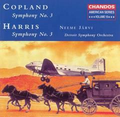 Neeme Järvi - Copland: Symphony No. 3; Harris: Symphony No. 3