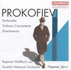 Neeme Järvi - Prokofiev: Sinfonietta; Sinfonia Concertante; Divertimento