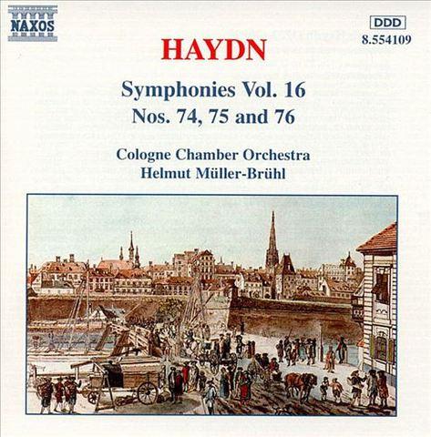 Haydn, J. - Haydn: Symphonies Nos. 74, 75 & 76