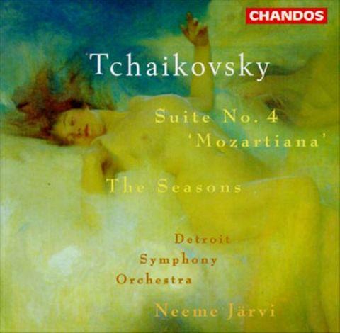 Neeme Järvi - Tchaikovsky: Suite No.4/The Seasons