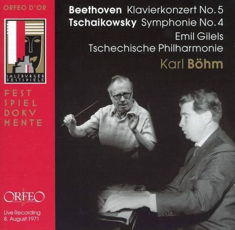 Karl Böhm - Beethoven: Klavierkonzert No. 5; Tschaikowsky: Symphonie No. 4