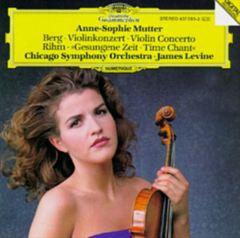 James Levine - Alban Berg: Violinkonzert; Wolfgang Rihm: Gesungene Zeit