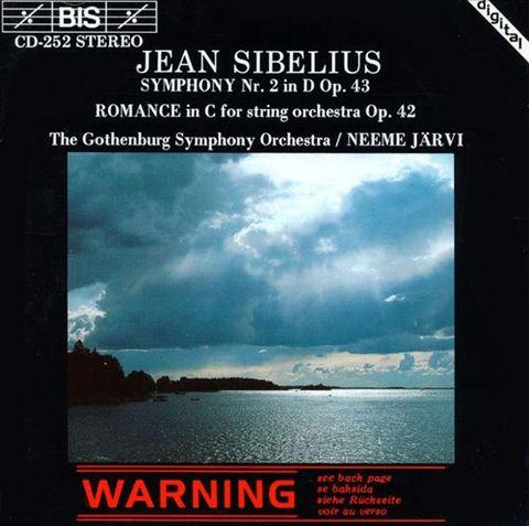 Neeme Järvi - Sibelius: Symphony No. 2; Romance in C