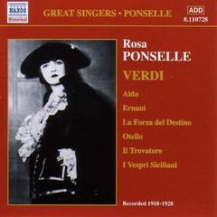 Verdi, G. - Rosa Ponselle Sings Verdi
