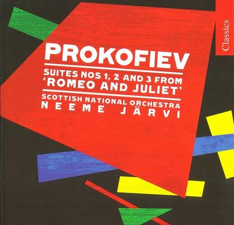 Neeme Järvi - Prokofiev: Romeo and Juliet Suites Nos. 1-3