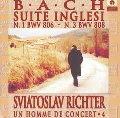 Sviatoslav Richter - Bach: Suite Inglesi n. 1 (BWV 806) & n. 3 (BWV 808)