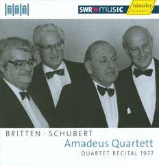 Amadeus Quartet - Britten, Schubert: String Quartets