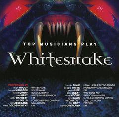 Various Artists - Top Musicians Play Whitesnake