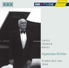 Sviatoslav Richter - Sviatoslav Richter: Piano Recital, 1994